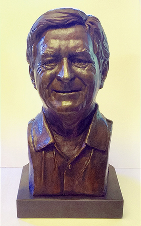 Randy Williamson bronze bust