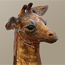 Sculpture of a baby Giraffe